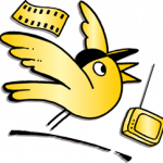 goldener Spatz